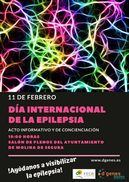 D´Genes dará visibilidad a la epilepsia el próximo lunes, 11 de febrero, en Molina de Segura, coincidiendo con el Día Internacional de esta patología - 1, Foto 1