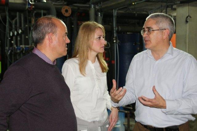 El Gobierno local se reúne en León con el consultor Antonio Freire para definir el nuevo centro termal de Alhama - 3, Foto 3