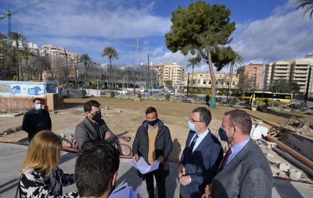 La Plaza Circular se convertirá en uno de los hitos de entrada a Murcia - 1, Foto 1