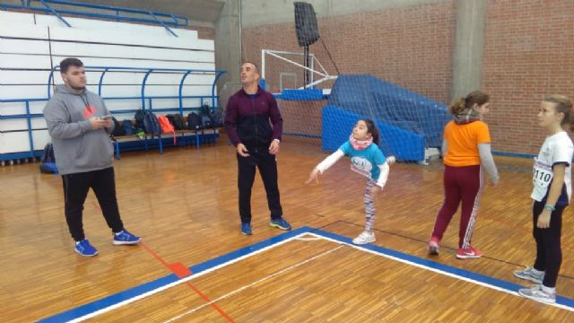 "The ""Tierno Galván"" School of Totana participated in the Regional Final of Playing School Sports Athletics"