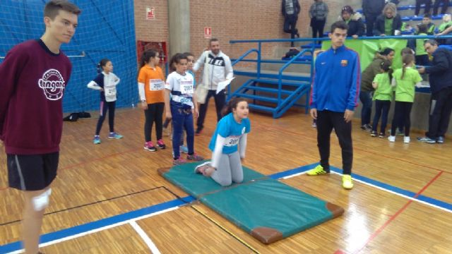 El Colegio Tierno Galván de Totana participó en la Final Regional de Jugando al Atletismo de Deporte Escolar, Foto 2