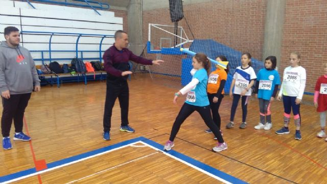"The ""Tierno Galván"" School of Totana participated in the Regional Final of Playing School Sports Athletics - 5"