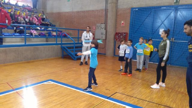 "The ""Tierno Galván"" School of Totana participated in the Regional Final of Playing School Sports Athletics - 8"