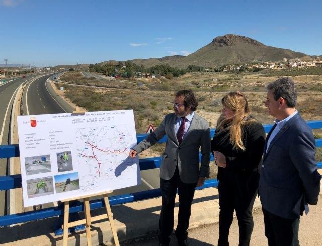 La Comunidad mejora la conservación de ocho carreteras con cerca de 20 millones de desplazamientos anuales, Foto 1