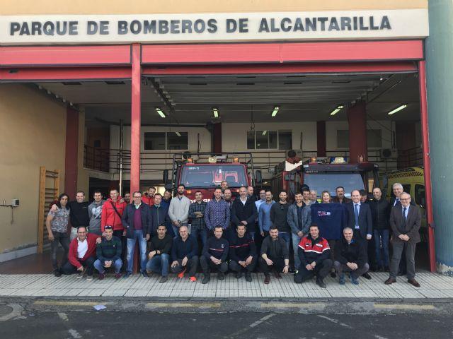 Los bomberos del Consorcio de la Comunidad Autónoma celebran a su patrón, Foto 1