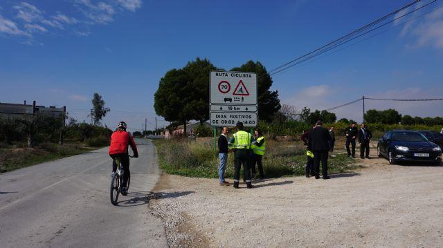 La Dirección General de Tráfico identifica y señaliza cuatro vías convencionales de la Región como Rutas Ciclistas Protegidas, Foto 1
