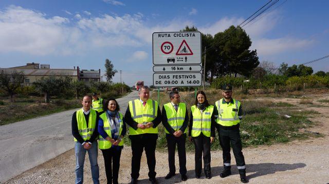La Dirección General de Tráfico identifica y señaliza cuatro vías convencionales de la Región como Rutas Ciclistas Protegidas, Foto 2