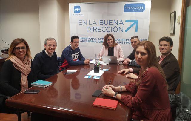 Libertad e Igualdad, título del comunicado que coordina Patricia Fernández, quien ha reunido a su equipo de trabajo para abordar los principios que conformarán su debate en el Congreso del PPRM - 1, Foto 1