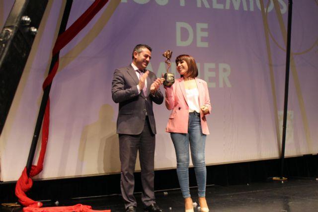 Raquel Toledo y UCAM Jairis reciben los Premios de Mujer 2018, a nivel individual e institucional, en Alcantarilla - 2, Foto 2