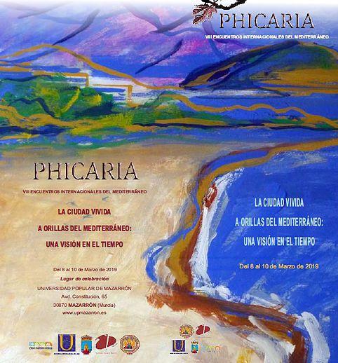Los Encuentros Culturales sobre el Mediterráneo Phicaria vuelven a Mazarrón este fin de semana - 1, Foto 1