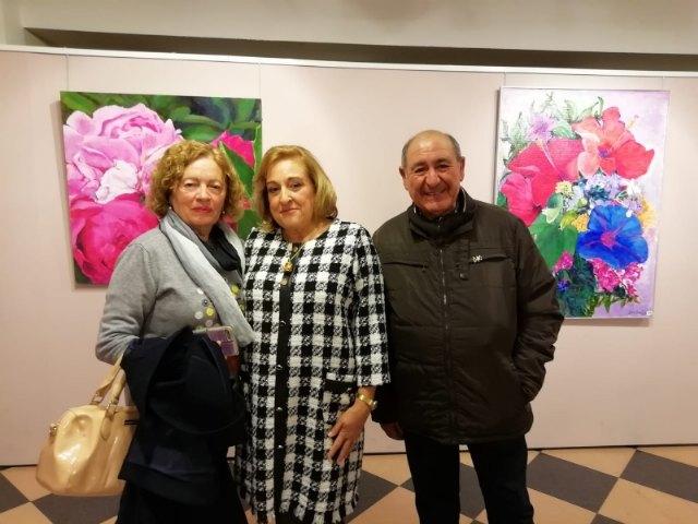 """The painting exhibition by María José García Sánchez is inaugurated in the """"Gregorio Cebrián"""" room - 3"""