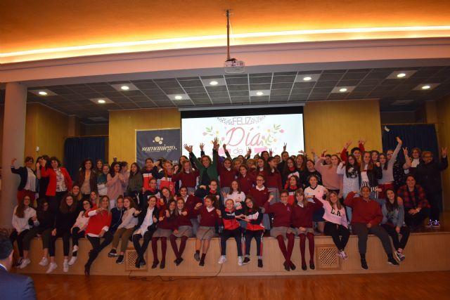 La consejera de Educación asiste a los actos organizados por el colegio Samaniego de Alcantarilla con motivo del Día Internacional de la Mujer - 1, Foto 1