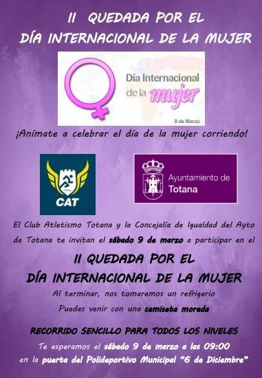 Tomorrow will take place the Second Stay for the International Women's Day - 1