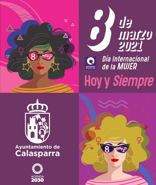 Este 8M Día Internacional de la Mujer se vive de manera online en Calasparra - 2, Foto 2