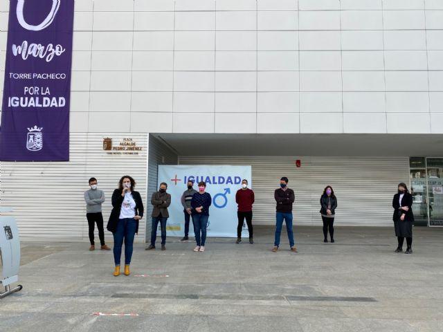 Lectura del Manifiesto del 8 de marzo, Día Internacional de las Mujeres en Torre Pacheco - 1, Foto 1
