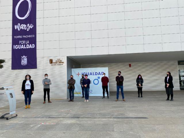 Lectura del Manifiesto del 8 de marzo, Día Internacional de las Mujeres en Torre Pacheco - 2, Foto 2