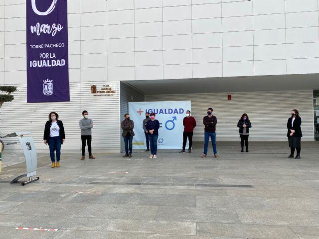 Lectura del Manifiesto del 8 de marzo, Día Internacional de las Mujeres en Torre Pacheco - 4, Foto 4