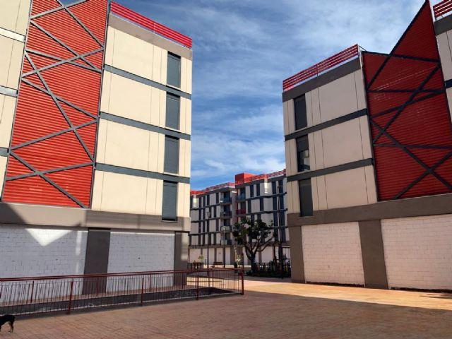 El Ayuntamiento de Lorca avanza en el procedimiento en la convocatoria de adjudicación de las 51 viviendas municipales del barrio de San Fernando - 1, Foto 1