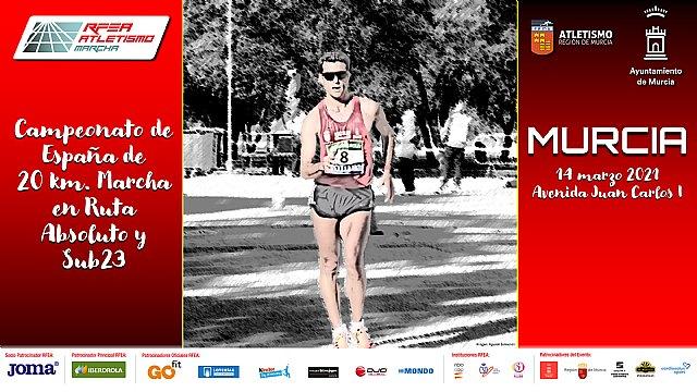 Este miércoles, presentación del LXXII Campeonato de España de 20km. Marcha en Ruta Absoluto-Sub23 - 1, Foto 1