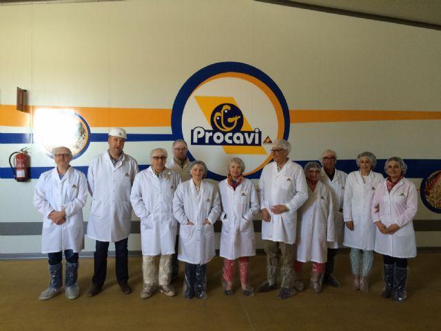 Los representantes de los  pueblos hermanados de Marchena y Châteaudun visitan Procavi, Foto 1