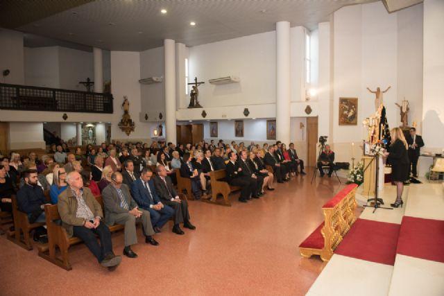 Alicia Jiménez pronuncia el pregón de Semana Santa de Puerto de Mazarrón, Foto 2