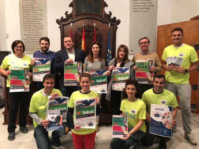 Más de 600 alumnos participarán el miércoles en la III Feria Escolar de la Salud que tendrá lugar en la Plaza de Calderón, Colón y las Alamedas de Lorca - 1, Foto 1