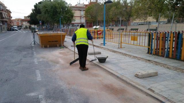 Renuevan por completo la red de riego del arbolado existente en el recinto ferial, Foto 5