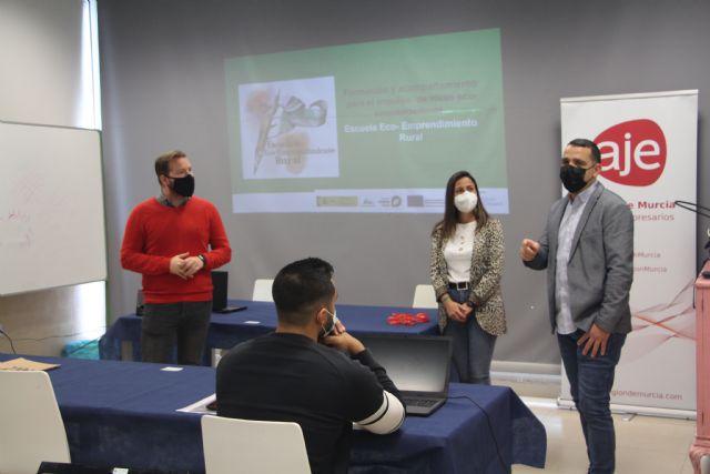AJE desarrolla la Escuela de Eco-Emprendimiento Rural en San Pedro del Pinatar - 1, Foto 1