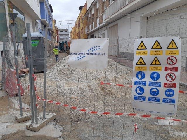 Aprueban el Plan de Gestión de Residuos de las obras de renovación de las redes de agua potable y alcantarillado de la calle Gregorio Cebrián, Foto 1