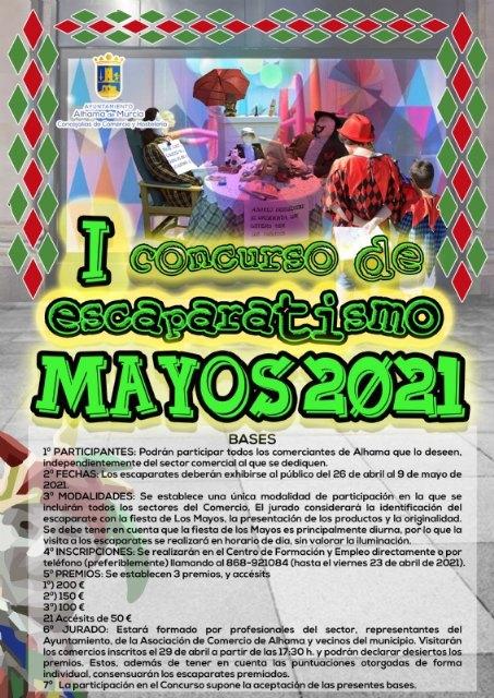 I concurso de escaparatismo Los Mayos 2021. Del 26 de abril al 9 de mayo, Foto 1
