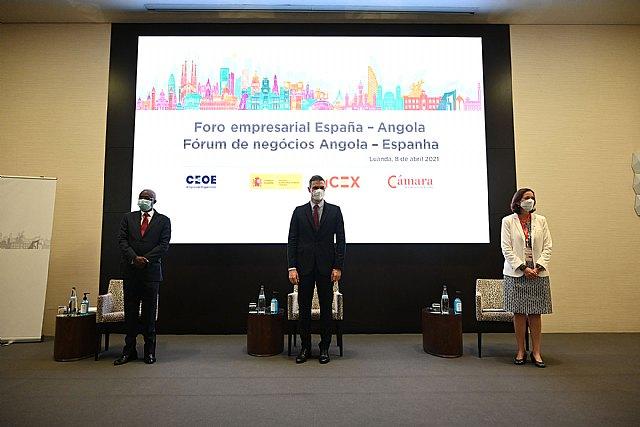 Pedro Sánchez defiende en Angola la asociación estratégica de España con África - 2, Foto 2
