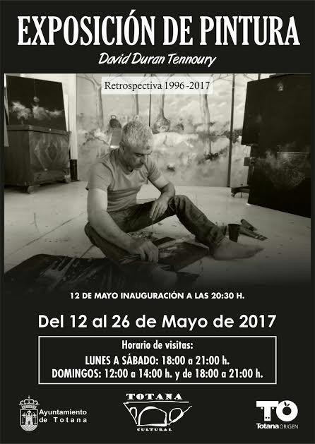 La exposición de pintura de David Durán Tennoury se inaugura este viernes en la sala municipal Gregorio Cebrián, Foto 1