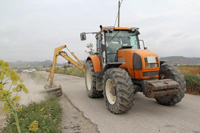 El Ayuntamiento de Puerto Lumbreras pone en marcha actuaciones para la limpieza de caminos rurales - 1, Foto 1