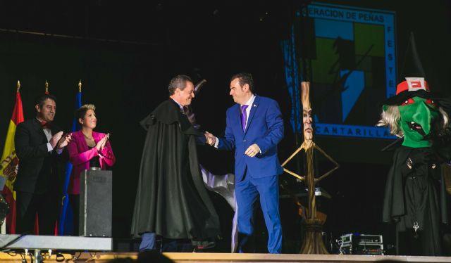 Desde el sábado las Fiestas de Alcantarilla ya cuentan Brujo del Año, Cristóbal García Morata, tras su nombramiento - 2, Foto 2