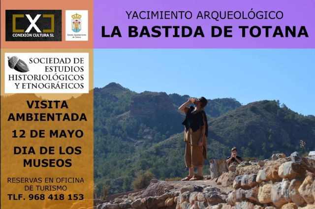 They organize a visit set to the La Bastida site on Saturday, May 12