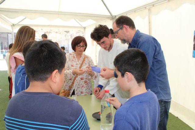 Alumnos del IES Rambla de Nogalte y CEIP Sagrado Corazón participan en el proyecto Monitores de la Ciencia - 1, Foto 1