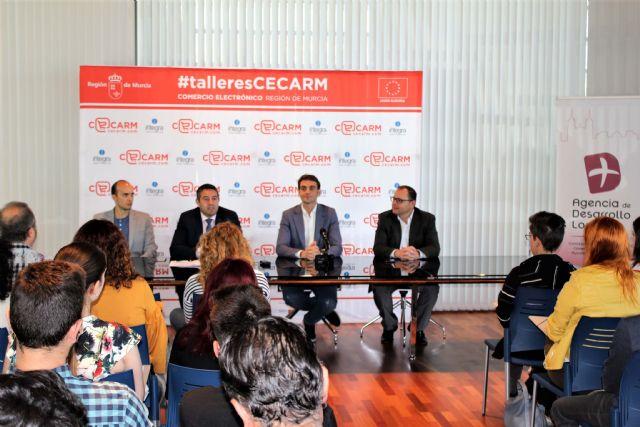 El primero de los talleres Cecarm 2018 sobre comercio electrónico se ha desarrollado en Alcantarilla - 1, Foto 1