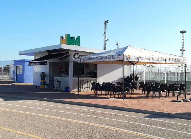 La nueva cantina del polideportivo municipal torreño ya presta servicio - 1, Foto 1