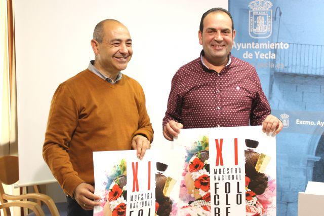 La XI Muestra Nacional de Folclore 'Ciudad de Yecla' reunirá a grupos de Cantabria, Aragón y Murcia - 1, Foto 1