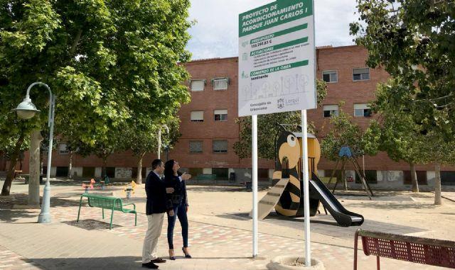 El Ayuntamiento moderniza los parques de Juan Carlos I y El Azarbe e instala nuevas zonas de juego - 2, Foto 2