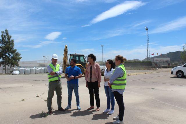 En marcha las obras de la pista de atletismo de Puerto Lumbreras - 2, Foto 2