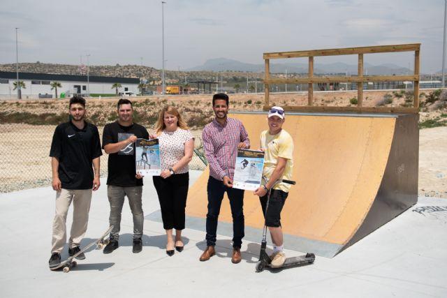 Puerto de Mazarrón acoge dos jornadas de las ligas oficiales de skateboarding y scooter, Foto 1