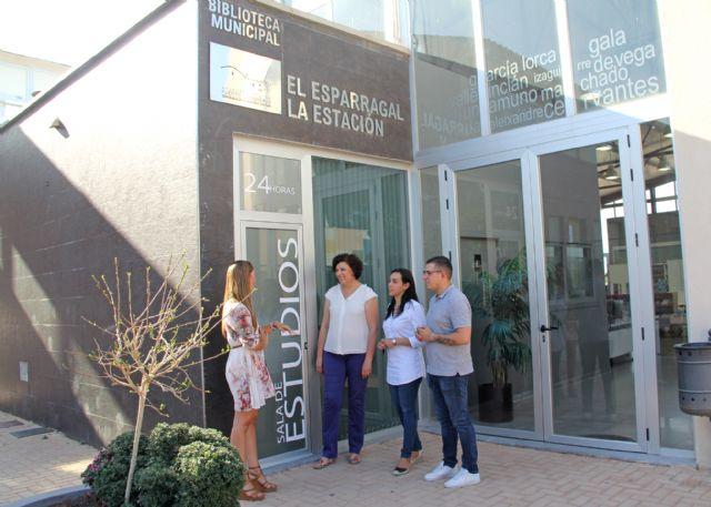 Nueva sala de estudio 24 horas en la pedanía de La Estación-Esparragal - 2, Foto 2
