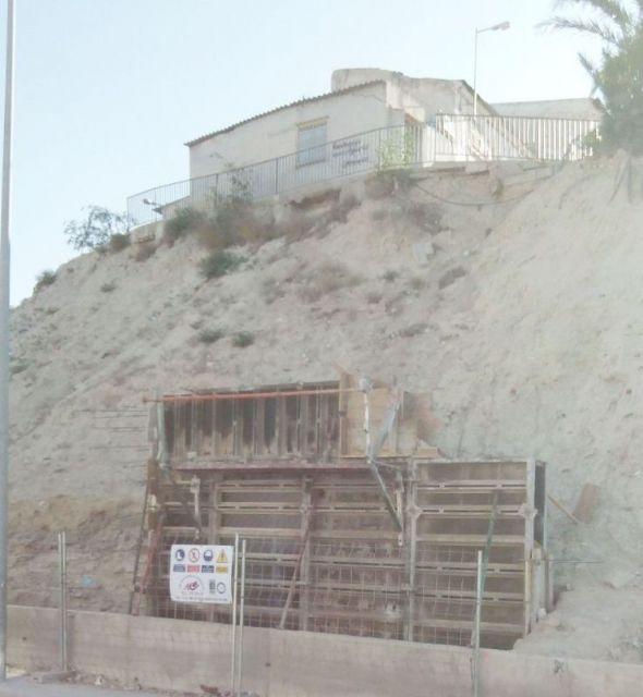 El Ayuntamiento de Cieza inicia actuaciones de emergencia en el Cabezo de la Fuensantilla - 1, Foto 1