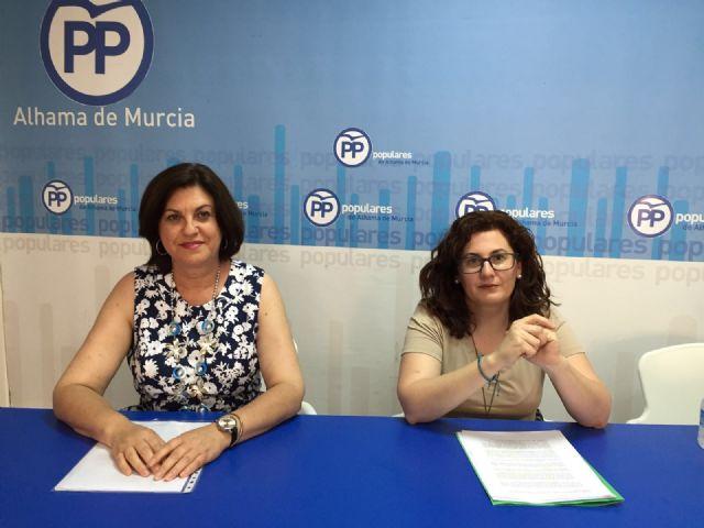 Rueda de Prensa PP Alhama. Valoraciones sobre la anulación del Pleno del Estado de Municipio, Foto 2
