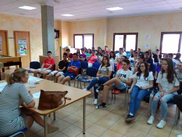 Juventud clausura el programa de educación para la salud 'Viaje Saludable', Foto 2