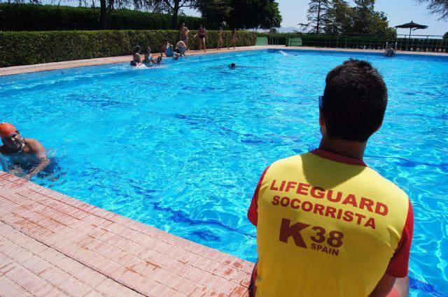 Las piscinas del Polideportivo Municipal 6 de diciembre abren sus puertas mañana viernes 9 de junio, Foto 1