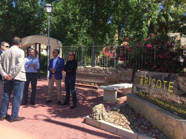 Un nuevo colector en la red de saneamiento de Ricote permitirá a los regantes reutilizar el agua - 1, Foto 1