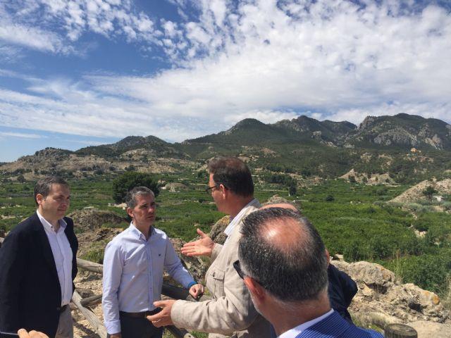 Un nuevo colector en la red de saneamiento de Ricote permitirá a los regantes reutilizar el agua - 2, Foto 2