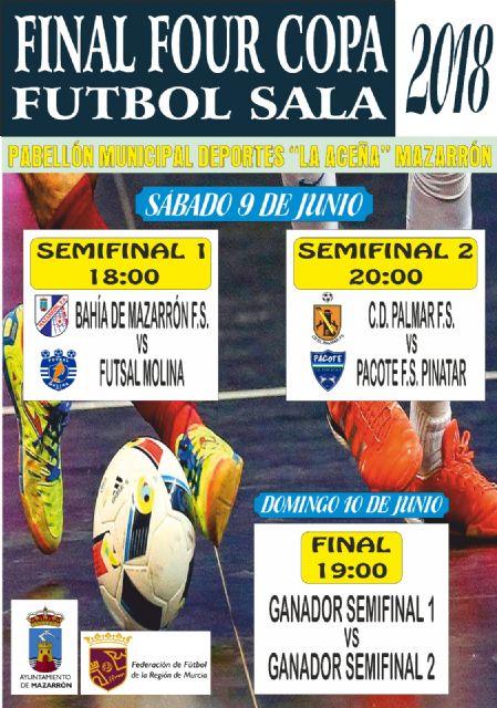 Mazarrón tiene otra cita este fin de semana con el fútbol sala, Foto 1